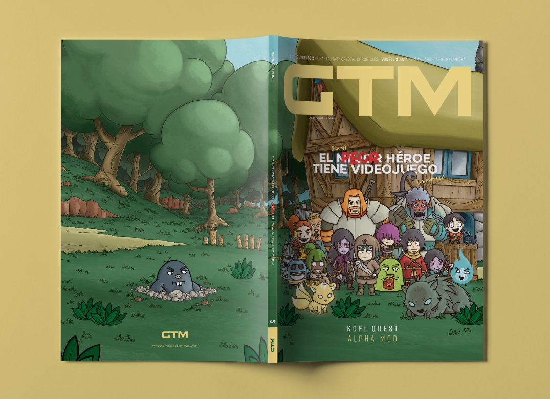 Kofi revista Games Tribune GTM