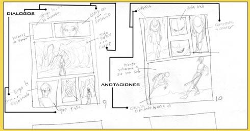 Taller de Manga - Dibujar una página Manga paso a paso