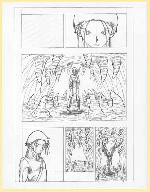 Worksheet. Taller de Manga  Dibujar una pgina Manga paso a paso