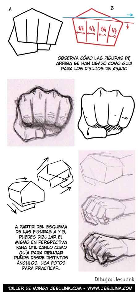 Taller de Manga  Cmo dibujar manos
