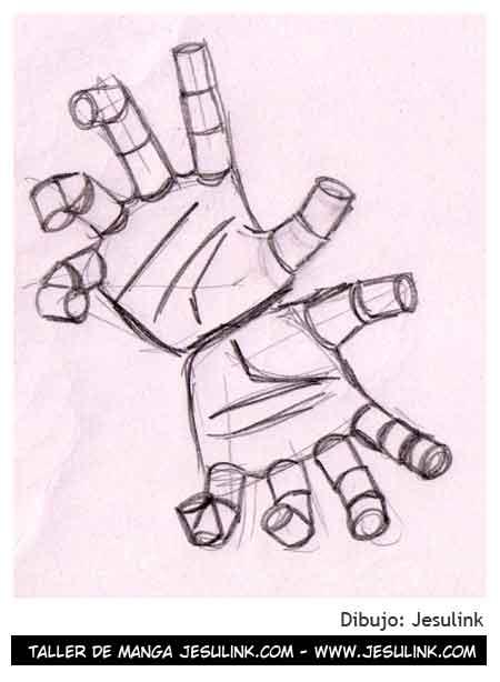 Aprendan a dibujar Manos para sus mangas y futuros animes   Taringa