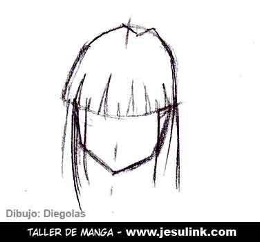 Taller De Manga Como Dibujar Pelo