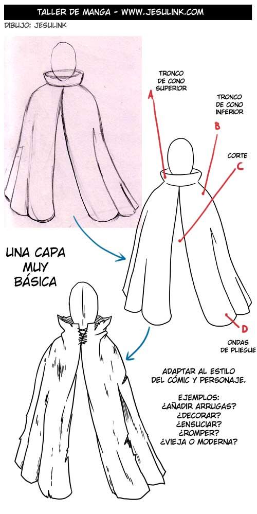 Cómo dibujar ropa y pliegues , Jesulink.com
