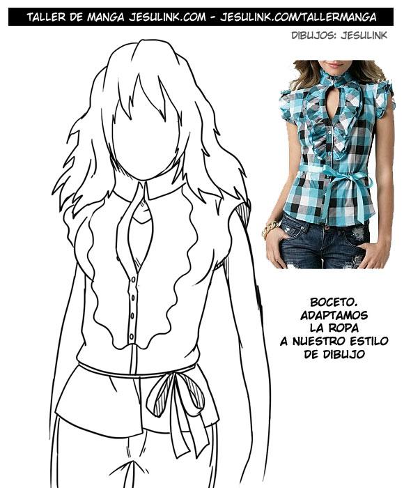Taller de Manga - Tutorial completo sobre cómo dibujar ropa