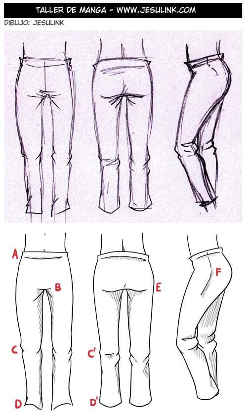 Tutorial de como dibujar ropa! Parte 4 - Taringa!