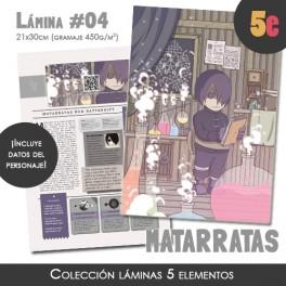 Lámina Matarratas (colección clásica)