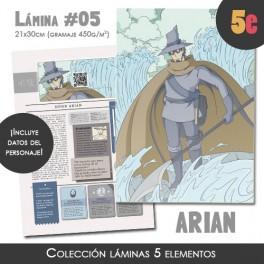 Lámina coleccionista (Arian)