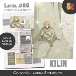 Lámina coleccionista (Kilin)