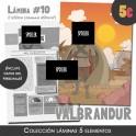 Lámina Válbrandur (colección clásica)