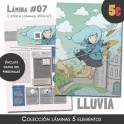 Lámina Lluvia (colección clásica)