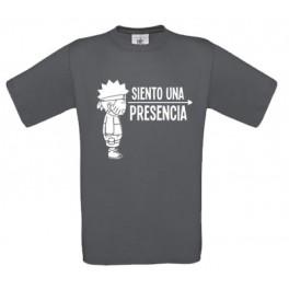 """Camiseta """"Siento una presencia"""""""