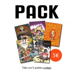 Pack 5 pósters